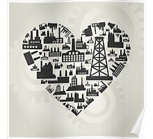 Industry heart2 Poster