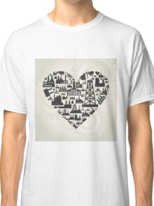 Industry heart2 Classic T-Shirt