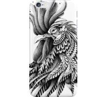 Ornately Decorated Rooster iPhone Case/Skin