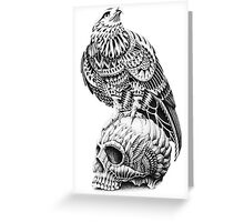 Red-Tail Skull Greeting Card