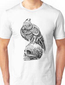 Red-Tail Skull Unisex T-Shirt