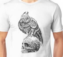 Red-Tail Skull Unisex T-Shirt