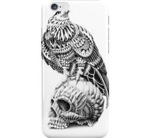 Red-Tail Skull iPhone Case/Skin