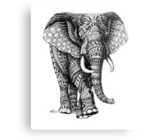 Ornate Elephant v.2 Metal Print