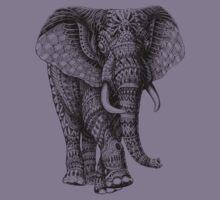 Ornate Elephant v.2 Kids Clothes