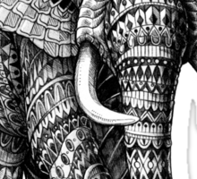 Ornate Elephant v.2 Sticker