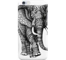 Ornate Elephant v.2 iPhone Case/Skin