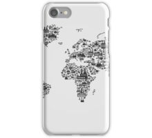 Transport map iPhone Case/Skin