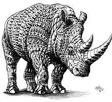 Rhinoceros by BioWorkZ