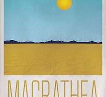 Magrathea Travel Poster by knolster