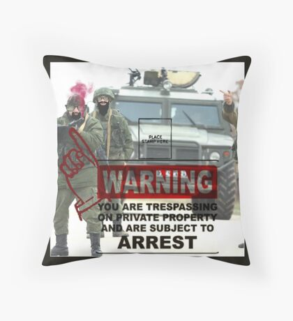 ARREST THIS MAN Throw Pillow