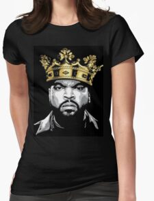ICE CUBE KING  Womens Fitted T-Shirt