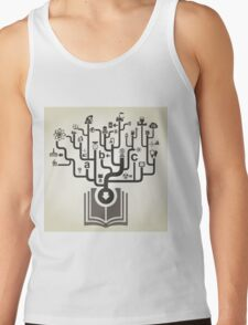 Industry the book Tank Top
