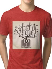 Industry the book Tri-blend T-Shirt