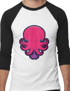 Terrence the octopie - Happy Ink! Men's Baseball ¾ T-Shirt