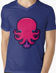 Terrence the octopie - Happy Ink! Mens V-Neck T-Shirt