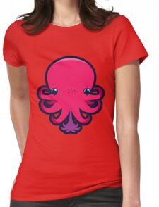 Terrence the octopie - Happy Ink! Womens Fitted T-Shirt