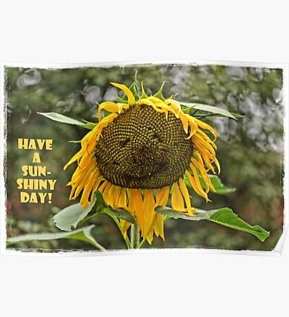 Have a sunshiny day! Poster