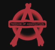 Anarchy Freedom Of Association Kids Tee