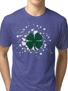 lucky clover bubbles Tri-blend T-Shirt