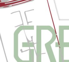Be Green Sticker