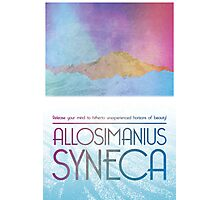 Allosimanius Syneca Travel Poster Photographic Print