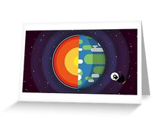 Kurzgesagt - In a Nutshell Greeting Card