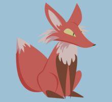 Ren the Red Fox One Piece - Short Sleeve