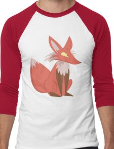Ren the Red Fox Men's Baseball ¾ T-Shirt