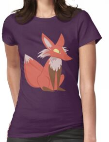 Ren the Red Fox Womens Fitted T-Shirt
