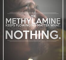 Methylamine - Breaking Bad by LukeOlfert