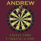 Andrew - Custom Darts Tee by marinasinger