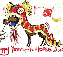 Chinese Year of the Horse 2014 by Dani Vittz