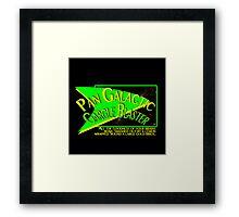 Fictional Brew - Pan Galactic Gargle Blaster Framed Print