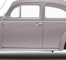 1954 Volkswagen Beetle Sedan - Ultramaroon Sticker