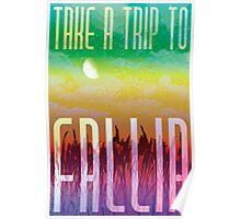 Fallia Travel Poster Poster