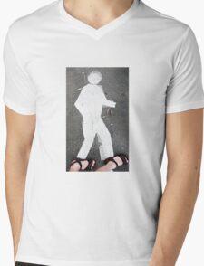 Pedestrian Mens V-Neck T-Shirt