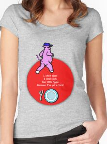Pig Fork Women's Fitted Scoop T-Shirt