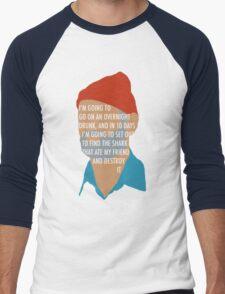 Team Zissou's Mission Objective Men's Baseball ¾ T-Shirt