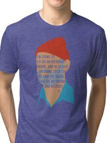 Team Zissou's Mission Objective Tri-blend T-Shirt