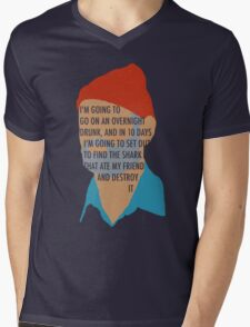 Team Zissou's Mission Objective Mens V-Neck T-Shirt