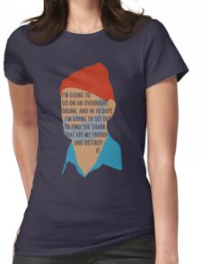 Team Zissou's Mission Objective Womens Fitted T-Shirt