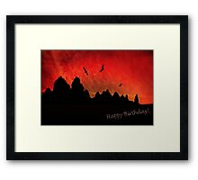 Happy Birthday!  Framed Print