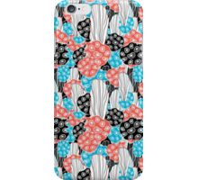 abstract pattern corals iPhone Case/Skin