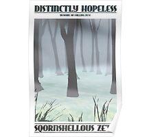 Sqornshellous Zeta Travel Poster Poster