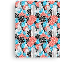 abstract pattern corals Canvas Print