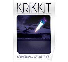 Krikkit Travel Poster Poster