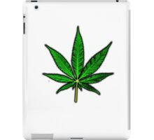 Basic Pot Leaf iPad Case/Skin