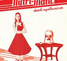 Nutri-Matic Drink Synthesizer Advertisement by knolster