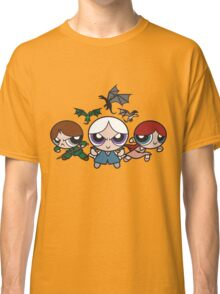 Ice and Fire Girls Classic T-Shirt